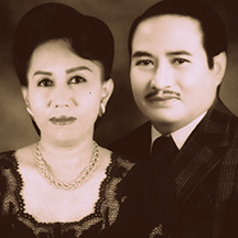 Ibu Sylvia dan H. Djumnadidjaja (Alm)
